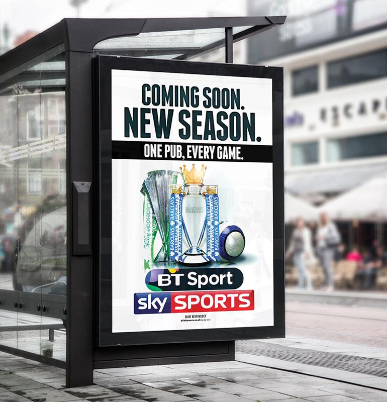 Premier League Print Campaign